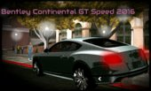 Bentley Continental GT Speed 2016 No Txd For Android