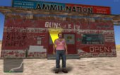 GTA V: Ammunation from Sandy Shores for GTA: SA