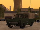 Trabant 601 German Military Pickup