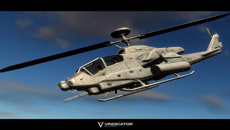 ah1w super cobra gunship - Helicopter Mod