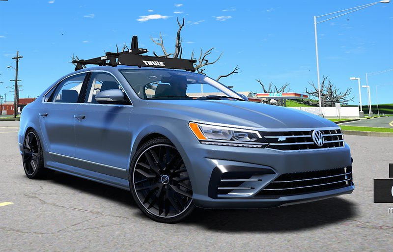 Gta 5 2016 Volkswagen Passat V6 Sel R Line Mod Gtainside Com