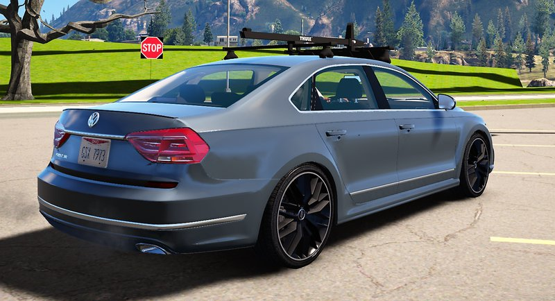 gta 5 2016 volkswagen passat v6 sel r line mod. Black Bedroom Furniture Sets. Home Design Ideas
