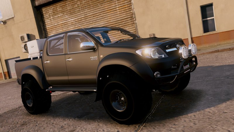 gta 5 2007 top gear toyota hilux at38 arctic trucks add on tuning mod. Black Bedroom Furniture Sets. Home Design Ideas