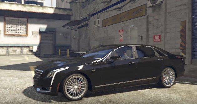 GTA 5 Cadillac CT6 2017 Add On Mod
