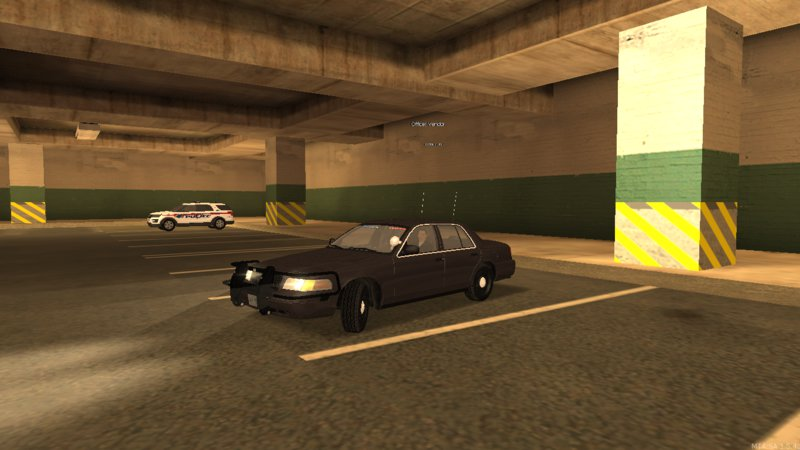 Unmarked Crown Vic
