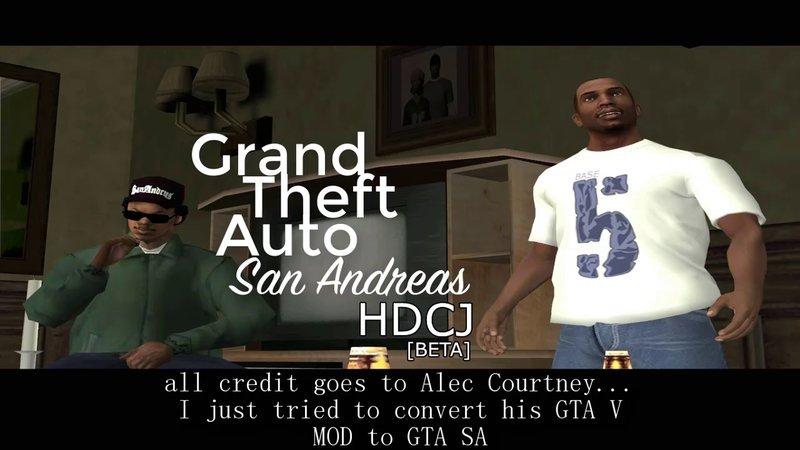 GTA San Andreas HD CJ 2017 Mod - GTAinside com