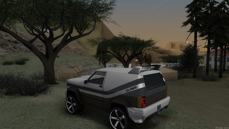 GTA San Andreas BlueRay Sandking Mod Mod - GTAinside com