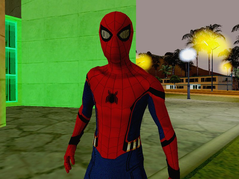 GTA San Andreas Spider-Man Homecoming VR Mod - GTAinside com