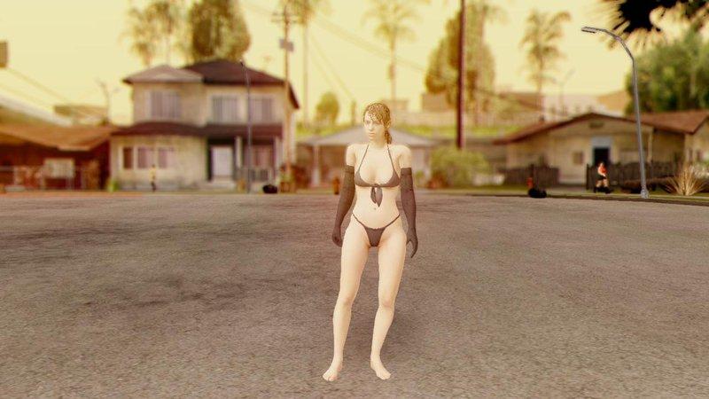 Metal Gear Solid 5 Nude Quiet