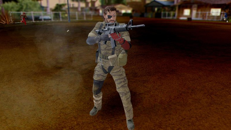 GTA San Andreas Venom Snake Pack- Metal Gear Solid V The