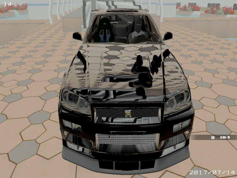 64 Mod Bussid Mobil Nissan Skyline R34 Gratis Terbaru