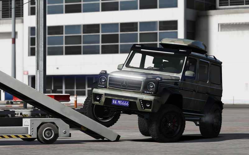 Gta 5 mercedes benz g class g500 4x4 add on mod for Mercedes benz g class 4x4