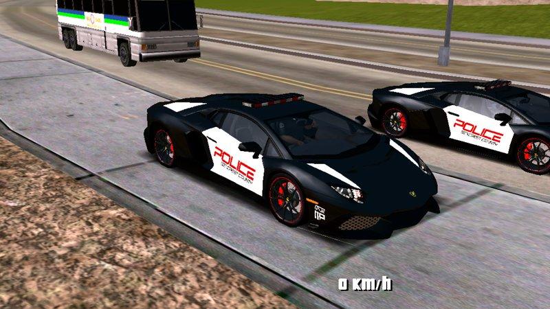 Gta San Andreas New Lamborghini Cop Car Solo Dff To Mods Mod