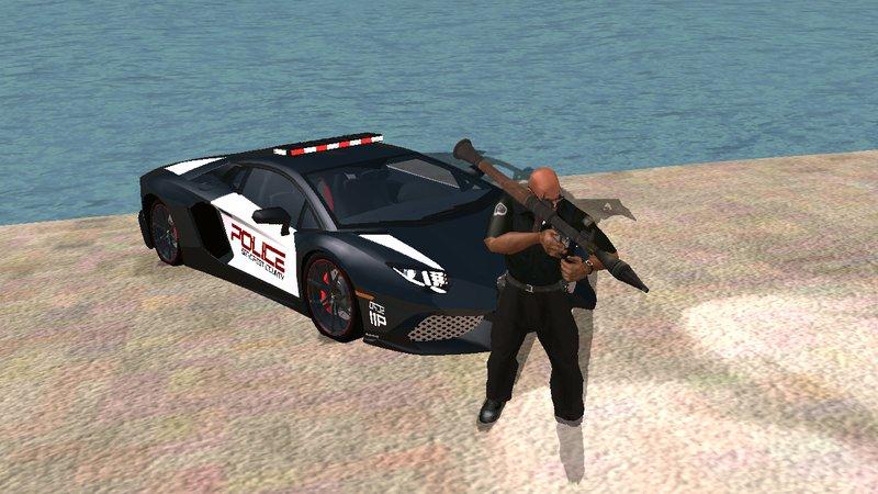 Полицейская Lamborghini