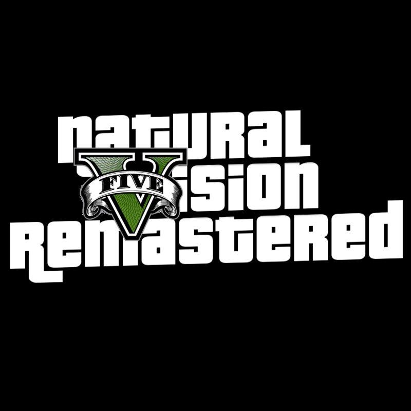 GTA 5 Natural Vision Remastered Logo Mod - GTAinside com