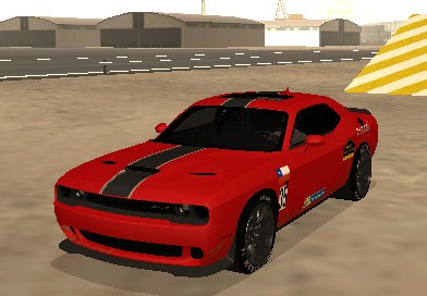 Dodge Challenger Hellcat Rally Car