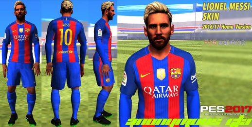 Messi Skin 2017 For Android