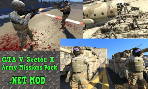 Sector X Army Missions Pack 1 - SKULLHOUND Storyline - 9 Missions [.NET] Full Version 3.2.1