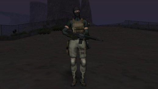 Metal Gear Solid 4 Meryl masked
