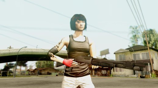 Mirror's Edge Weapon Pack