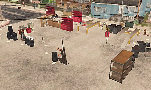 Mapping full Grove street