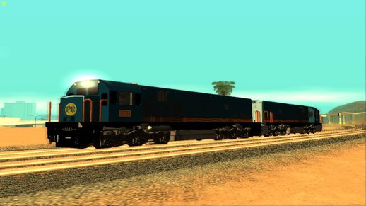 P.N.R 900 Class (1st Batch) G.E U14C (Cab Forward and Cab Reverse) (P.N.R Blue-Orange Stripe 2012 Livery)