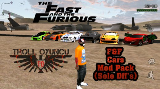 Fast And Furious Cars And Weapons Pack