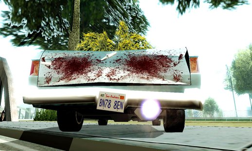 Mod Blood In The Car Like GTA IV