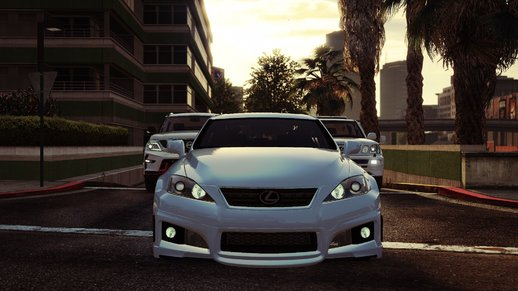 2009 Lexus IS-F with WALD Bodykit [Replace]