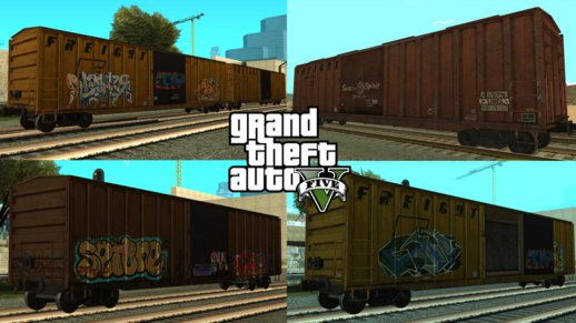 GTA V Boxcars pack