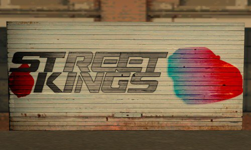 Street Kings Door in Ocean Docks