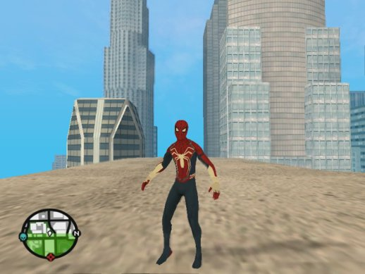 Marvel's Spider-Man PS4 (2018) Mod ReTex