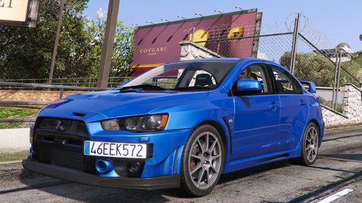Mitsubishi Lancer Evolution X FQ-400 [Add-On | OIV | Tuning]