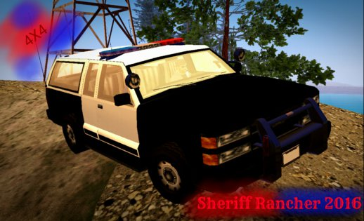 Sheriff Rancher 2016 (no Txd) For Android