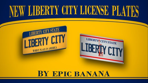 New Liberty City License Plates / New LC Plates