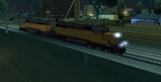 EMD SD40 Freight-2 Union Pacific