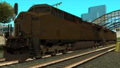 GE ES44AC Freight Union Pacific with Reverse Cab