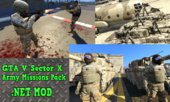 Sector X Army Missions Pack - 8 Missions! [.NET] 1.5.1 [BETA]
