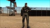 Metal Gear Solid 3 BIG BOSS camo pack