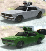 GTA V Declasse Tampa Weaponized & Worn