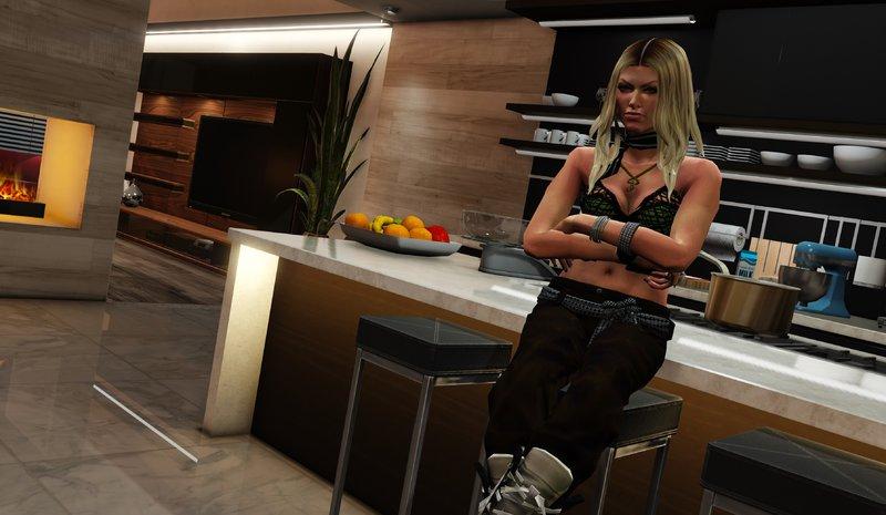 GTA 5 Fergie - [Add-On Ped] Mod - GTAinside com