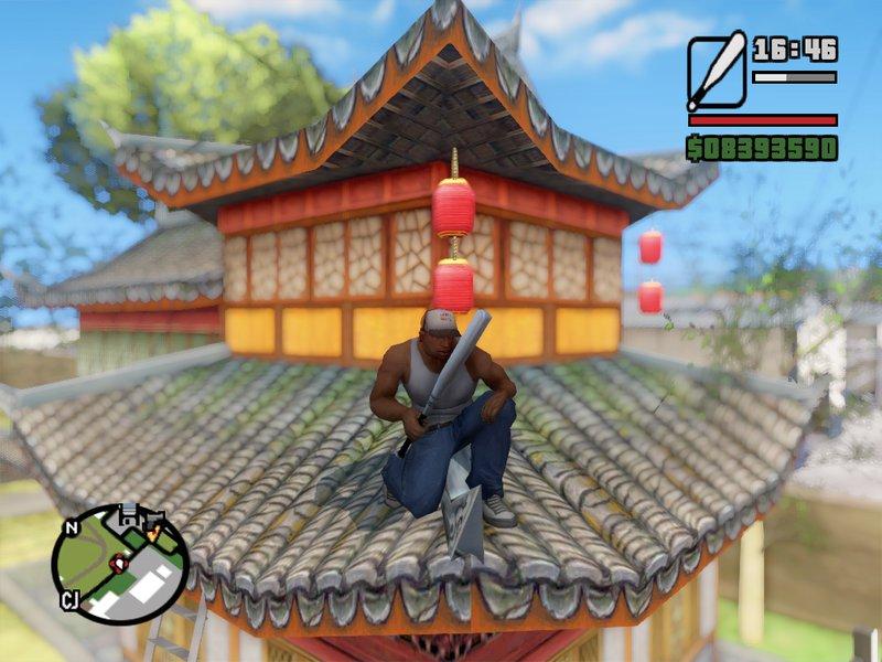 Gta San Andreas Chinese Ancient Village 中国古村 Mod