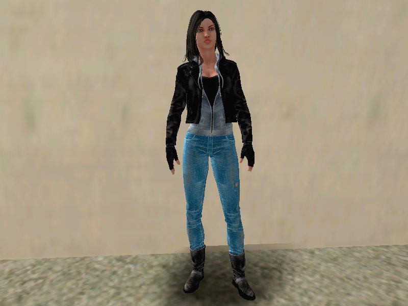 GTA San Andreas Marvel Heroes - Jessica Jones Netflix Mod