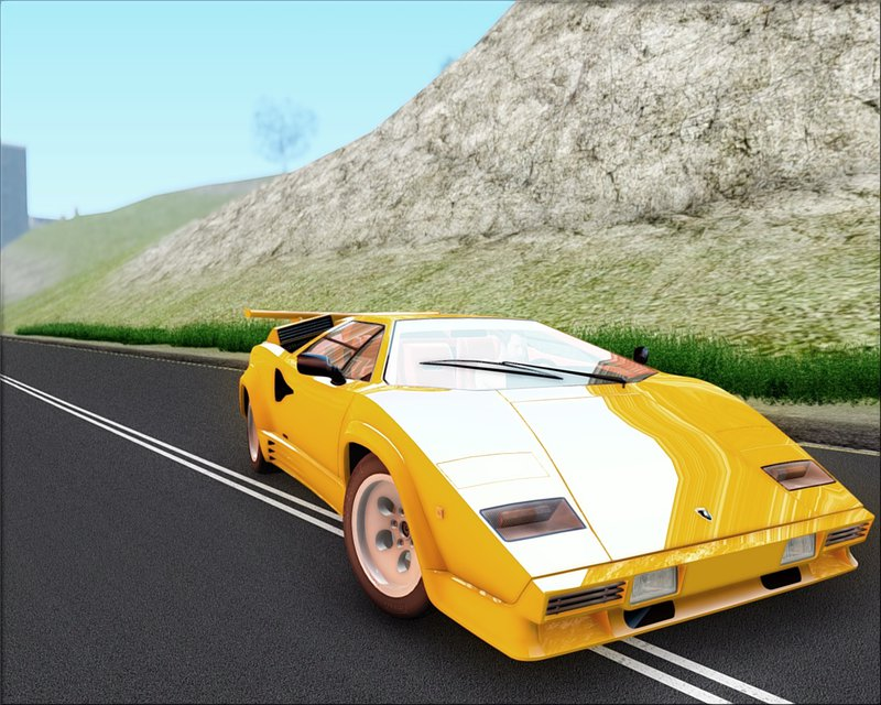 gta san andreas 1988 lamborghini countach mod. Black Bedroom Furniture Sets. Home Design Ideas