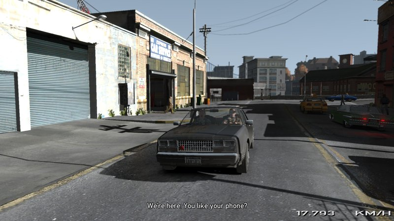 GTA 4 Move in (ingame) Cutscenes and remove camera (1 0 8 0/1 0 7 0