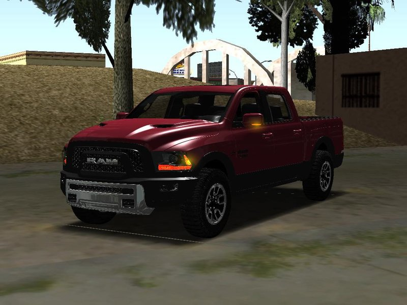 Gta San Andreas Dodge Ram Rebel 2017 Mod Gtainside Com