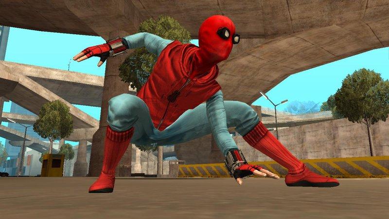 GTA San Andreas Spiderman Homecoming Mod - GTAinside com
