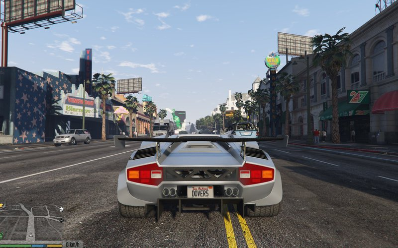 gta 5 lamborghini countach qv add on tuning mod. Black Bedroom Furniture Sets. Home Design Ideas