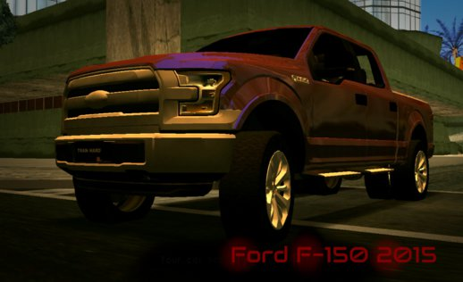 Ford F-150 2015 (no Txd) For Android