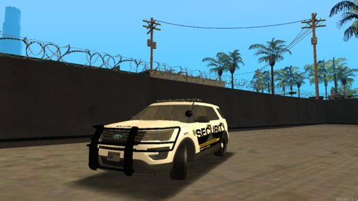 Security 2016 Ford Explorer